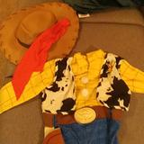 Disney Costumes | Cowboy Costume | Color: Brown/Red | Size: 5t