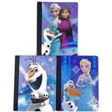 Disney Other | Disney Frozen Elsa Anna Olaf Composition Notebooks | Color: Blue/White | Size: Notebooks 100 Wide Ruled Sheets