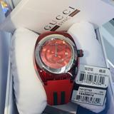 Gucci Accessories   New With Box&Tags Gucci Ya137103 Sync Mens Watch   Color: Red   Size: Os