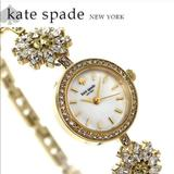 Kate Spade Accessories | Kate Spade Daisy Crystal Bracelet Watch | Color: Gold | Size: Os