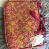 Lilly Pulitzer Accessories | Lilly Pulitzer Laptop Case | Color: Green/Pink | Size: Os