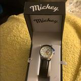 Disney Accessories | New Mickey Mouse Watch | Color: Black/White | Size: Os