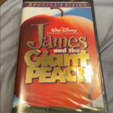 Disney Other | James And The Giant Peach Vhs Tape | Color: black | Size: Os