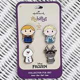 Disney Jewelry   New Hallmark Disney Frozen Itty Bittys Pin Set   Color: Gold   Size: Os