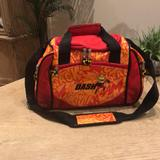 Disney Accessories   Disney The Incredibles Dash Small Duffle Bag   Color: Orange/Red   Size: 14x 7x 9