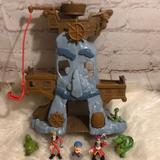 Disney Swim   Jake & The Never Land Pirates Hooks Adventure Rock   Color: Red   Size: See Pics For Measurementsbatteries Inc