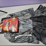Disney Other | Darth Vader Halloween Costume | Color: Black | Size: Small Fits Dress Sizes 6-10