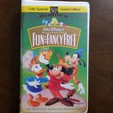 Disney Other   Fun & Fancy Free (1997 Vhs) Disney Masterpiece   Color: Gold/Green   Size: Os