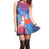 Disney Dresses   Nwt Little Mermaid Ariel Babydoll Dress   Color: Blue/Red   Size: Sj