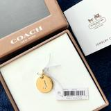 Coach Jewelry | Coach Initial J Gold-Tone Charm New In Box | Color: Gold | Size: Os