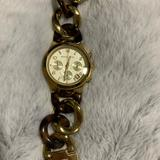 Michael Kors Accessories   Michael Kors Tortoise Shell And Gold Link Watch   Color: Brown/Gold   Size: Os