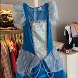 Disney Dresses | Halloween Costume | Color: Blue | Size: 4