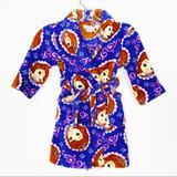Disney Pajamas | Disney Size 4t Princess Cozy Fleece Robe | Color: Purple | Size: 4tg