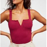 Free People Tops   Free People Pipa Body Suit   Color: Red   Size: M