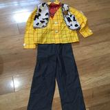 Disney Costumes | New Toy Story 78 Costume Halloween Cosplay | Color: Brown | Size: Boys 78