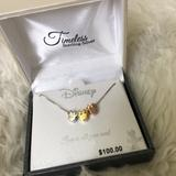 Disney Jewelry | Disney Mini Mouse 925 Sterling Silver 18 | Color: Gold/Silver | Size: Os