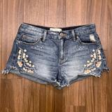 Free People Shorts | Free People Tulum Vintage Cutoff Jean Shorts | Color: Blue | Size: 26