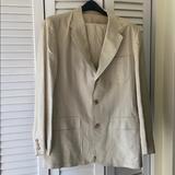J. Crew Suits & Blazers   Jcrew Linen Mens 3 Button Suit   Color: Cream   Size: 42l