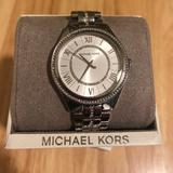 Michael Kors Accessories | Michael Kors, Stainless Steel, Diamond Watch | Color: Silver | Size: Watch Band Length Can Be Adjusted