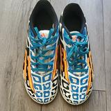 Adidas Other | Kids Adidas Messi Indoor Soccer Shoes Size 5 12 | Color: Blue/Orange | Size: 5 12