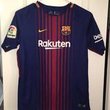 Nike Shirts & Tops   Nike Fcb Barcelona 2017 Sewn Youth Soccer Jersey   Color: Blue/Red   Size: Xlb