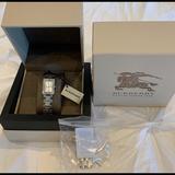 Burberry Accessories   Burberry Ladies Swiss Quartz Bracelet Watch   Color: Silver   Size: Os