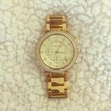 Michael Kors Jewelry   Michael Kors Gold Wristwatch   Color: Gold   Size: Xs Wrist