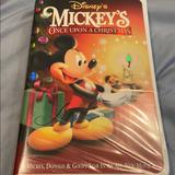 Disney Other   Mickeys Once Upon A Christmas Vhs Tape   Color: black   Size: Os