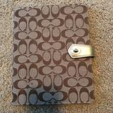 Coach Office   Coach Ipad Cover   Color: Gold/Tan   Size: 10 V X 8 W