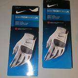 Nike Other   Niketechremix Jr.Comfy Glove   Color: Gray/White   Size: Med Junior