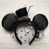 Disney Accessories   Disney Official Jack Skellington Top Hat Ears   Color: Black   Size: Os