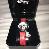 Disney Accessories | Disney Mickey Watches | Color: Red | Size: Osg