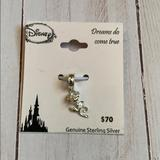 Disney Jewelry | Disney Rose Charm | Color: Silver | Size: Os
