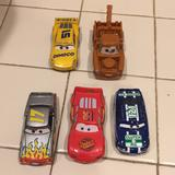Disney Toys | Disney Truck And Car Toys , Metal, Plastic | Color: Red/White | Size: One
