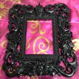 Disney Other | Disney Villains Frame Halloween Decoration Decor | Color: Black | Size: Os