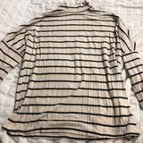 Anthropologie Tops | Anthropologie Striped Sweater- S | Color: Black/Cream | Size: S