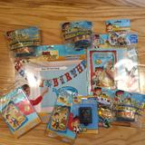 Disney Party Supplies | Jake Neverland Pirates Birthday Party Decorations | Color: Blue | Size: Os