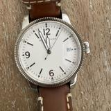Burberry Accessories | Burberry White Dial Tan Leather Ladies Watch | Color: Tan/White | Size: Os