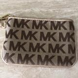 Michael Kors Accessories | Michael Kors Wristlet | Color: Tan | Size: Os