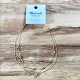 Madewell Jewelry | Madewell Enamel Starshine Necklace Set | Color: Gold | Size: Os