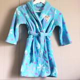 Disney Pajamas | Disney Frozen Elsa Girl'S Fleece Bathrobe Robe | Color: Blue/Purple | Size: Various