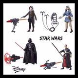 Disney Toys | 2$30 Disney Star Wars 4pk Figure Set Nib Toy | Color: Red | Size: Osb