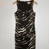 Michael Kors Dresses | Michael Kors Dress | Color: Brown/Cream | Size: M