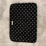 Kate Spade Accessories | Kate Spade Laptop Case Polka Dot | Color: Black/White | Size: Os