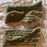Michael Kors Accessories   Michael Kors Fingerless Gloves   Color: Tan   Size: Os