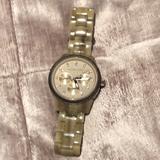 Michael Kors Accessories   Michael Kors Tortoise Jet Set Watch   Color: Tan   Size: Os