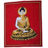 Bungalow Rose Cotton Powerloom Buddha Tapestry Cotton in Red, Size 90.0 H x 60.0 W in | Wayfair 6676223F46304E02A0EA8FC8EEF9183D
