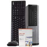 Dell OptiPlex 7010 PC Desktop Computer, Intel i5-3470 3.2GHz, 8GB RAM, 1TB HDD, Windows 10 Pro, Microsoft Office 365 Personal, Wireless Keyboard & Mouse, New 16GB Flash Drive, WiFi, DVD (Renewed)