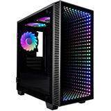 CUK Continuum Micro Gaming PC (Liquid Cooled AMD Ryzen 9 5950X, NVIDIA GeForce RTX 3080 10GB, 64GB 3200MHz RAM, 1TB NVMe SSD + 3TB HDD, 850W PSU, AC WiFi, Windows 10 Home) Gamer Desktop Computer
