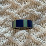 J. Crew Jewelry | J. Crew Cuff Bracelet Elastic | Color: Blue/Green | Size: Os